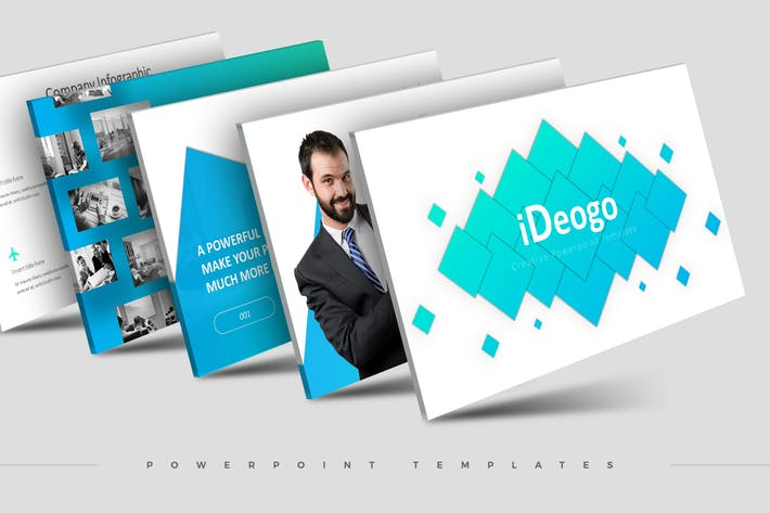 iDeogo - Powerpoint Template