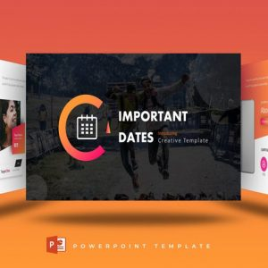 Important Dates - Powerpoint Template