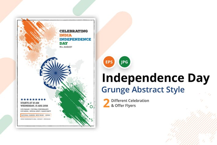 India Independence Day & Offer Flyer