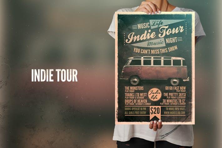 Indie Tour Flyer