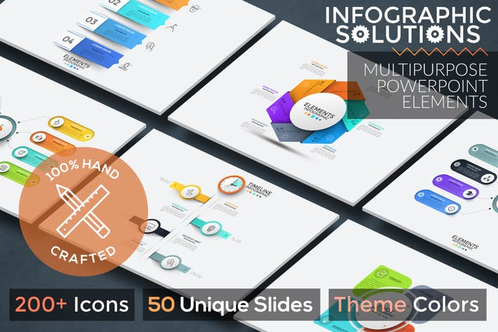 Infographic Solutions. P1. Powerpoint Template