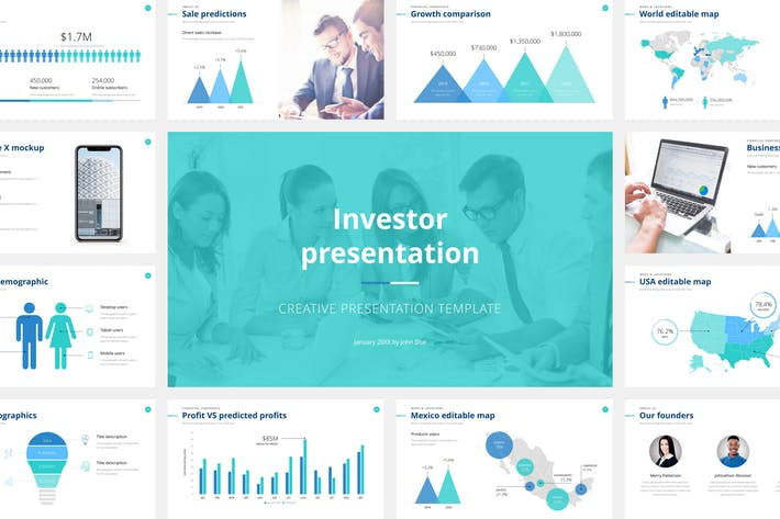 Investor Presentation Google Slides Template