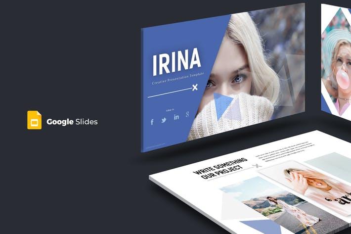 Irina - Google Slides Template