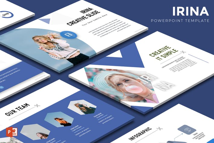 Irina - Powerpoint Template