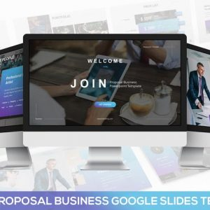 JOIN - Proposal Business Google Slides Template