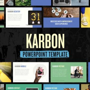 Karbon — Powerpoint Presentation Template