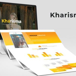 Kharisma - Google Slide Template