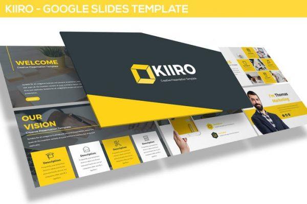 KIIRO - Google SlidesTemplate