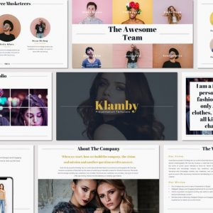 Klamby - Google Slides Template