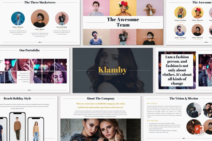 Klamby - Powerpoint Template