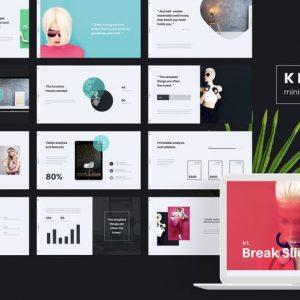 KLOE - Minimal Google Slide Template
