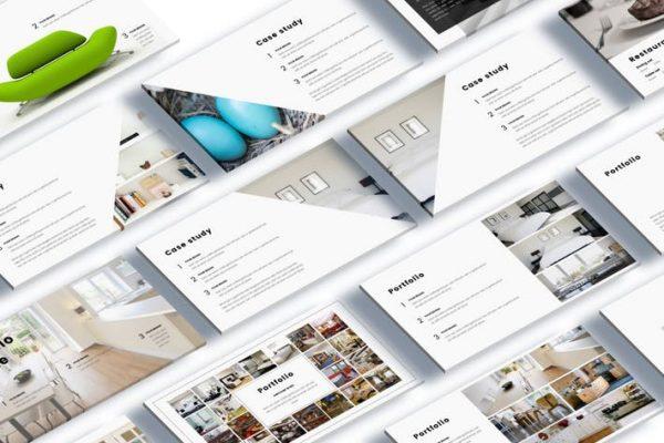Kotak Interior Design Google Slide Template
