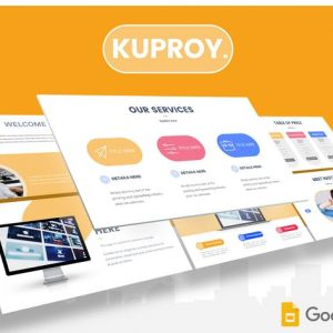 Kuproy - Google Slides Template