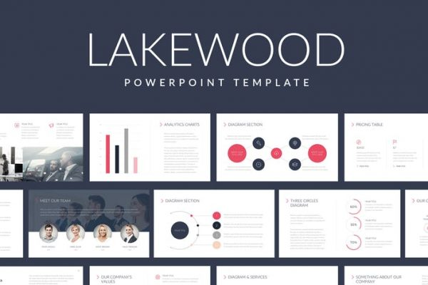 Lakewood Professional Powerpoint Template