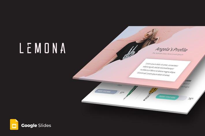 Lemona - Google Slides Template