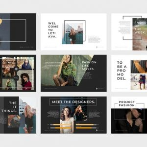 Letiava : Fashion Powerpoint Presentation