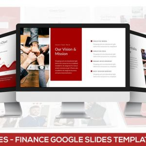 Libraries - Finance Google Slides Template