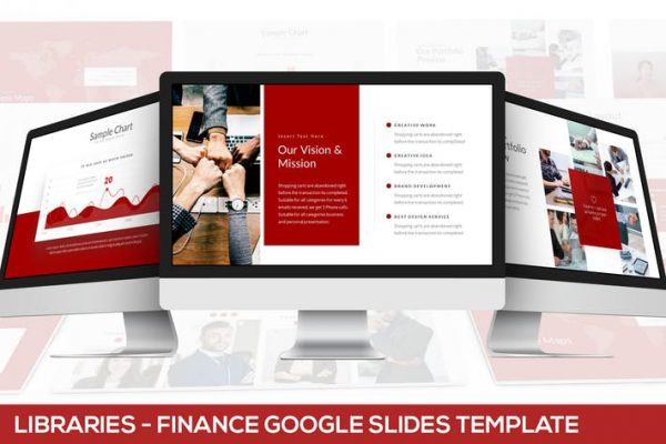 Libraries - Finance Google Slides Template