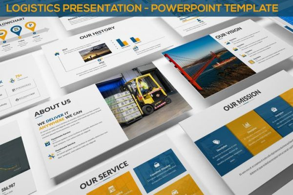 Logistics Presentation - Powerpoint Template