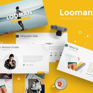 Looman - Powerpoint Templates