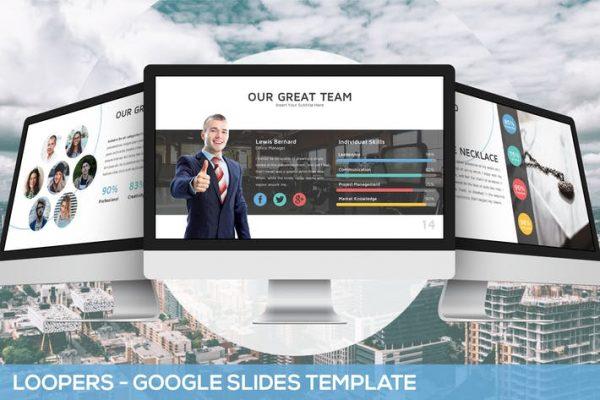 Loopers - Multipurpose Google Slides Template