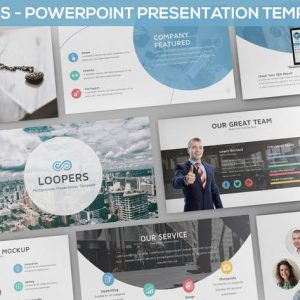 Loopers - Multipurpose Powerpoint Template