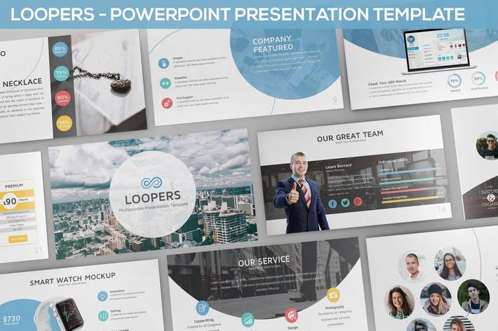 Loopers - Multipurpose Powerpoint Template