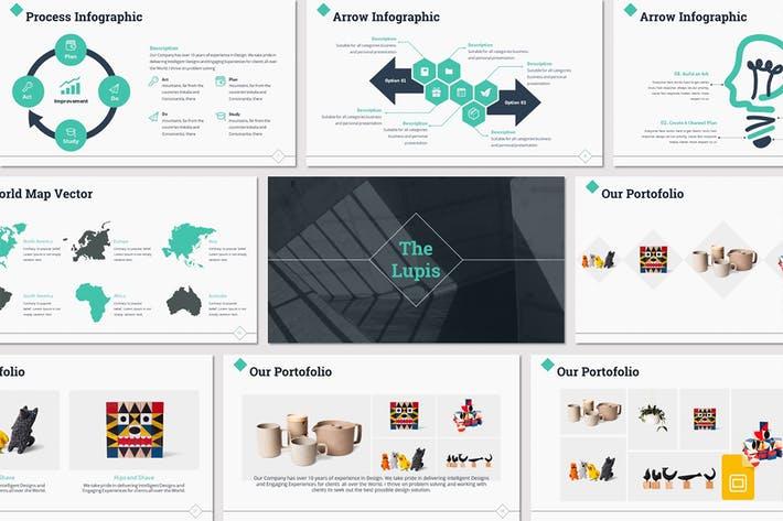 Lupis - Google Slides Template