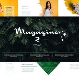 MAGAZINE 2 Powerpoint template