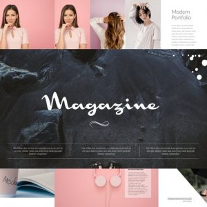 Magazine Powerpoint Template