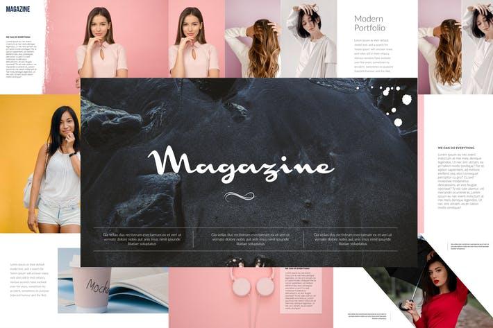Magazine Powerpoint Template