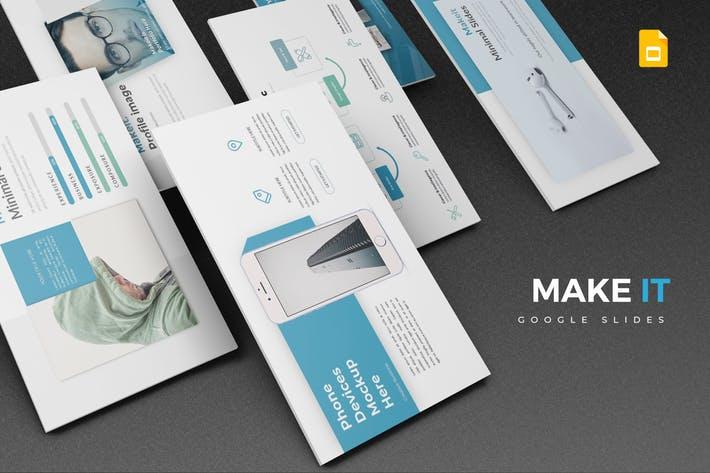 Makeit - Google Slides Template