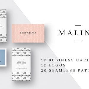 MALINA Business Cards + Logos
