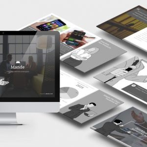 Mande : PowerPoint Template (Updated Ver 1.1)