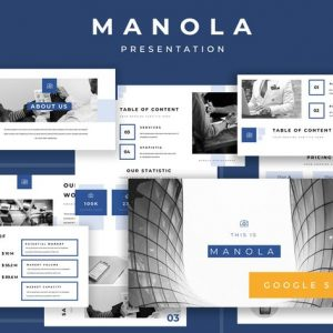 Manola Pitch Deck Google Slides Presentation