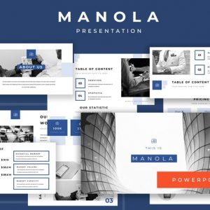 Manola Pitch Deck Powerpoint Presentation