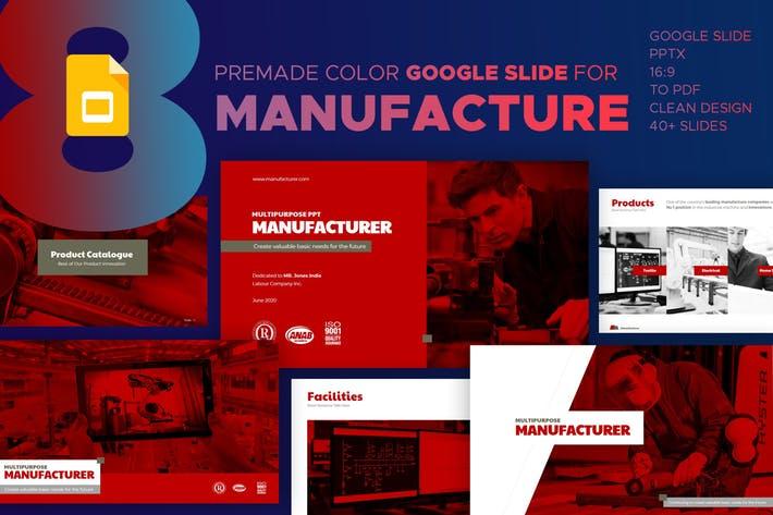 Manufacturer Google Slide Presentation