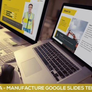 Manuva - Manufacture Google Slides Template