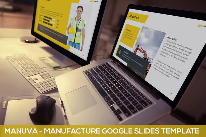 Manuva - Manufacture Google Slides Template