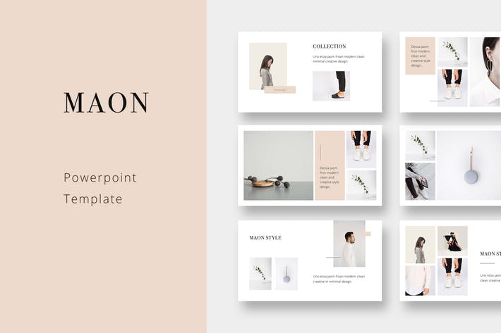 MAON - Powerpoint Template