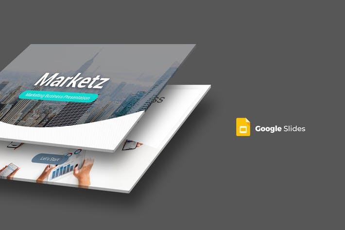 Marketz - Google Slides Template