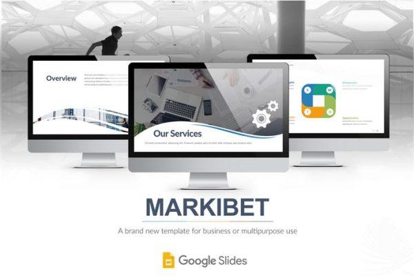 Markibet - Google Slides Template