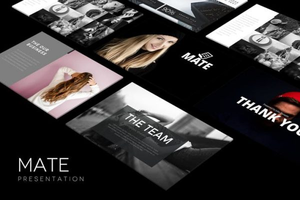 MATE Powerpoint Template