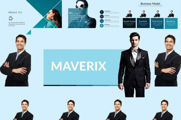 MAVERIX Powerpoint Template