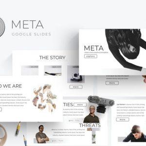 Meta - Google Slides Template