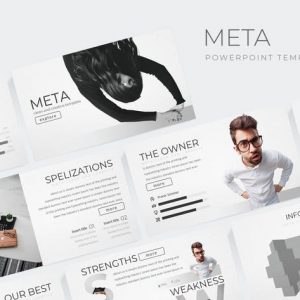Meta - Powerpoint Template