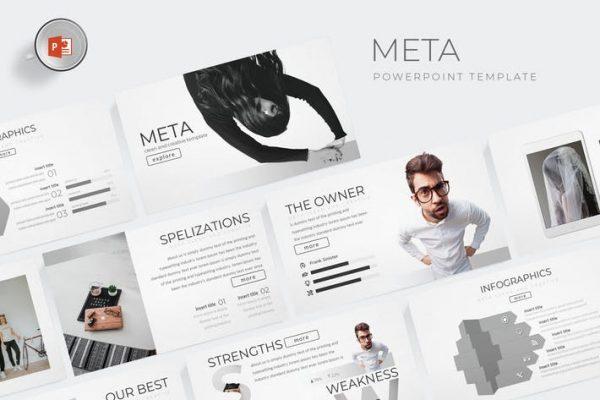 Meta - Powerpoint Template