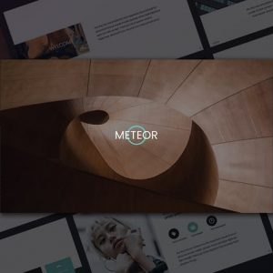 Meteor PowerPoint Template