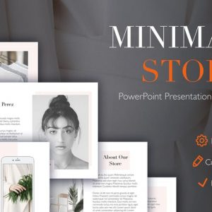 Minimal Store PowerPoint Template