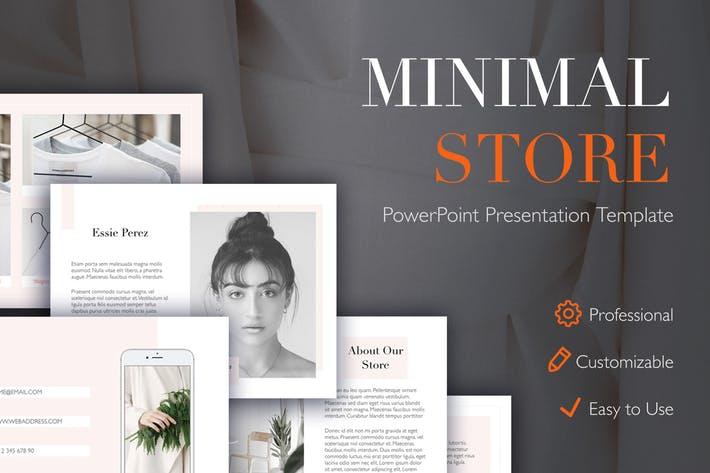 Minimal Store PowerPoint Template